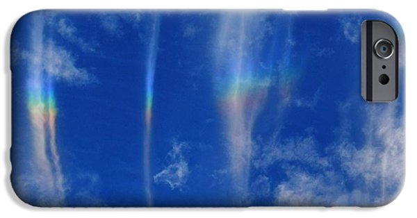 Popular iPhone Cases - Sky Painting iPhone Case by Julia Hassett