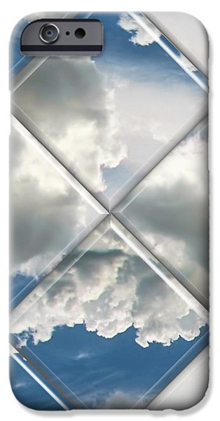Sky Watch iPhone Case by Wendy J St Christopher