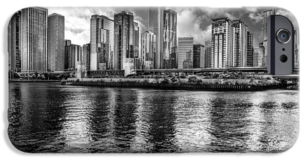 Miracle iPhone Cases - Chicago Skyline from the Lake iPhone Case by Erwin Spinner