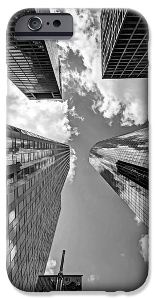 Skyscraper Photographs iPhone Cases - Skys the Limit iPhone Case by Dado Molina