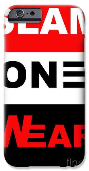 SLAM ONE WEAR iPhone Case by James Eye
