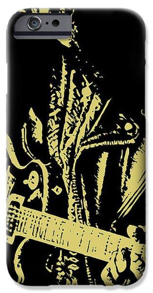 Slash N.02 iPhone Case by Caio Caldas