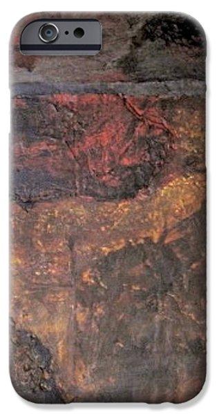 Slate Tile No. 1 iPhone Case by Jim Ellis