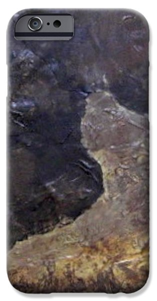 Slate Tile No. 3 iPhone Case by Jim Ellis