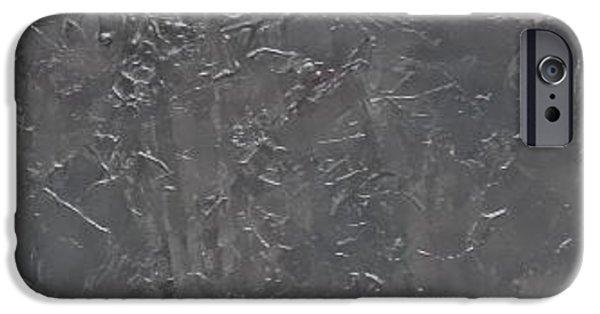 Recently Sold -  - Van Dyke Brown iPhone Cases - Slate Tile No.5 iPhone Case by Jim Ellis