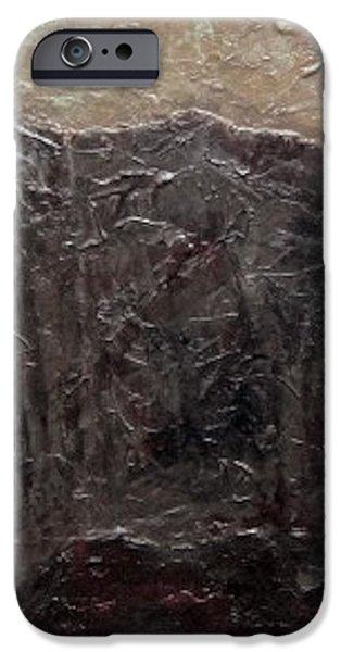 Slate Tile No.6 iPhone Case by Jim Ellis