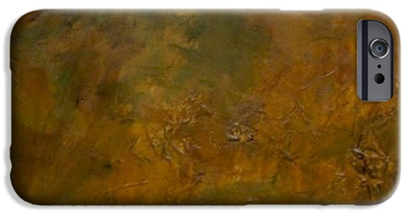 Van Dyke Brown iPhone Cases - Slate TIle No.8 iPhone Case by Jim Ellis