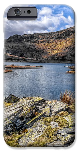 Slate Valley iPhone Case by Adrian Evans