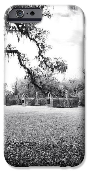 Slave Quarters iPhone Case by John Rizzuto