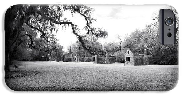 Slaves iPhone Cases - Slave Quarters iPhone Case by John Rizzuto