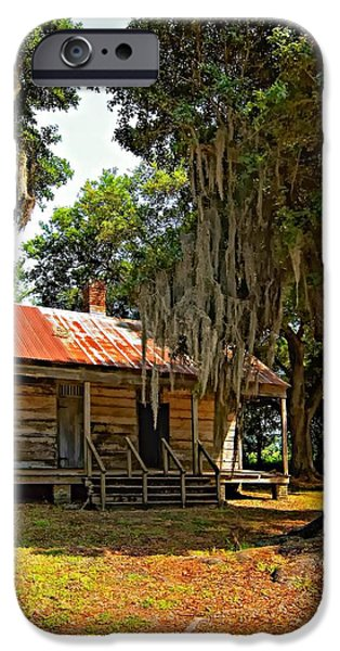 Slave Quarters iPhone Case by Steve Harrington
