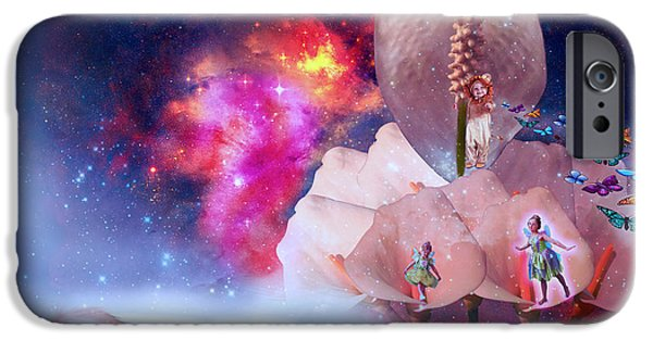 Fabulous Gifts iPhone Cases - Real Little baby dream iPhone Case by Artist Nandika  Dutt