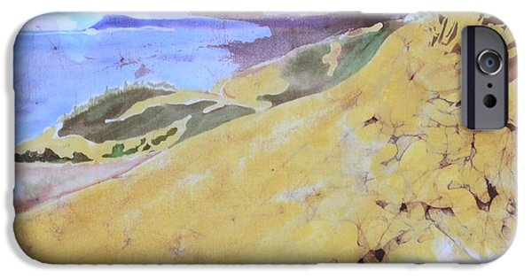 Sand Dunes Tapestries - Textiles iPhone Cases - Sleeping Bear Dunes iPhone Case by Kate Ford