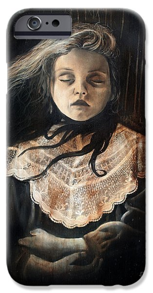 Recently Sold -  - Strange iPhone Cases - Sleeping Beauty iPhone Case by Michael Parsons