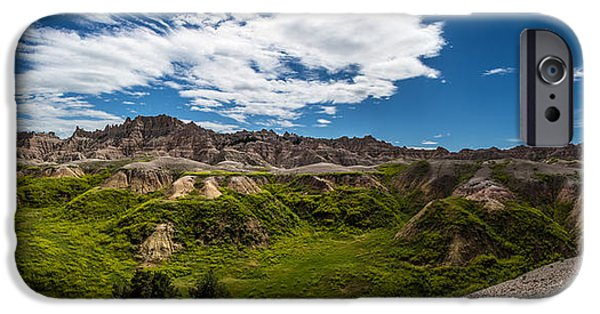 Badlands iPhone Cases - Sleeping Dragons iPhone Case by Aaron J Groen