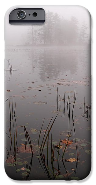 Central Massachusetts iPhone Cases - Sleepy Massachusetts Landscape iPhone Case by Juergen Roth