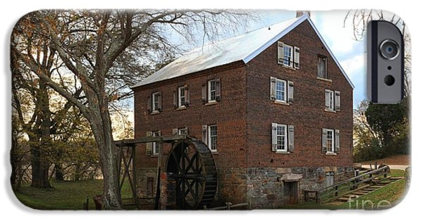 Grist Mill iPhone Cases - Sloan Park Grist Mill iPhone Case by Adam Jewell