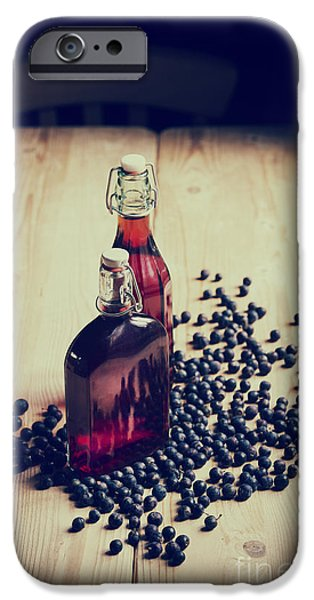 Berry iPhone Cases - Sloe Gin iPhone Case by Tim Gainey