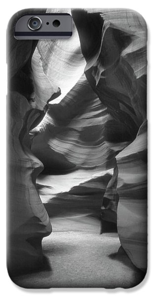 Pathway iPhone Cases - Slot Canyon 2 iPhone Case by Mike McGlothlen