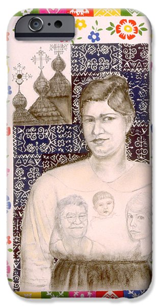 Slovak Grandmother iPhone Case by Diana Perfect