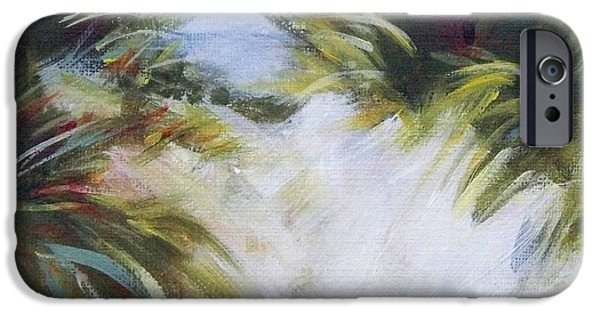 Beach iPhone Cases - Small Dunes 3 iPhone Case by Mary Hubley
