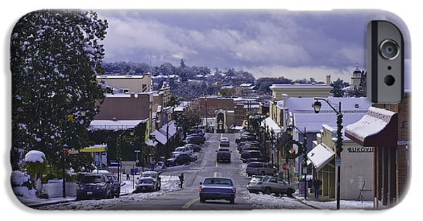 Lodes iPhone Cases - Small Town America iPhone Case by Sherri Meyer