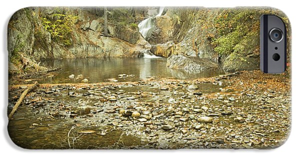 Franklin Photographs iPhone Cases - Smalls Falls In Autumn Western Maine iPhone Case by Keith Webber Jr
