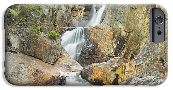 Franklin Photographs iPhone Cases - Smalls Falls In Western Maine iPhone Case by Keith Webber Jr