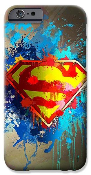 Smallville iPhone Case by Anthony Mwangi
