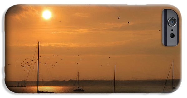 Bayside iPhone Cases - Smell the Sea iPhone Case by Lori Deiter