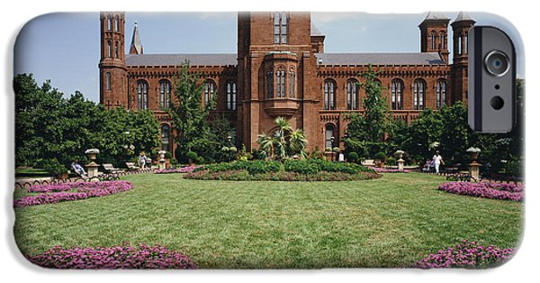 Smithsonian iPhone Cases - Smithsonian Institution Building iPhone Case by Rafael Macia