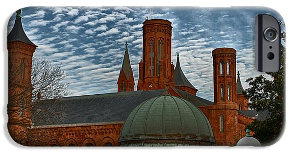 Smithsonian iPhone Cases - Smithsonian iPhone Case by William Rockwell