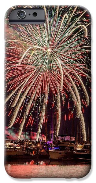Recently Sold -  - 4th July iPhone Cases - Smoke on the Water iPhone Case by Bill Pohlmann