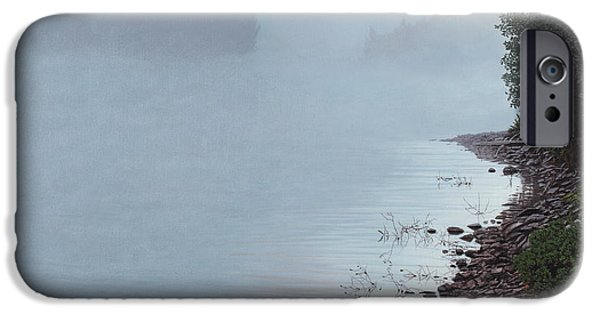 Recently Sold -  - Fog Mist iPhone Cases - Smoke on the Water iPhone Case by Kenneth M  Kirsch