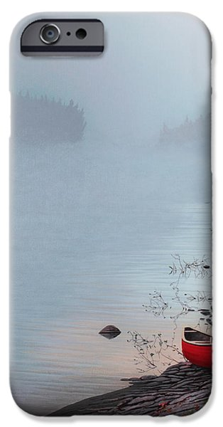 Smoke on the Water iPhone Case by Kenneth M  Kirsch