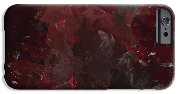 Blur Tapestries - Textiles iPhone Cases - Smokey iPhone Case by Claire Masters