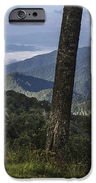 Smokey Mountain View iPhone Case by John McGraw