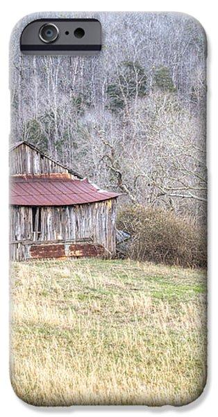 Smoky Mountain Barn 2 iPhone Case by Douglas Barnett
