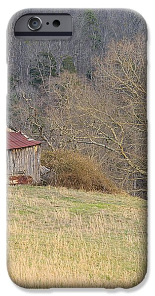 Smoky Mountain Barn 9 iPhone Case by Douglas Barnett