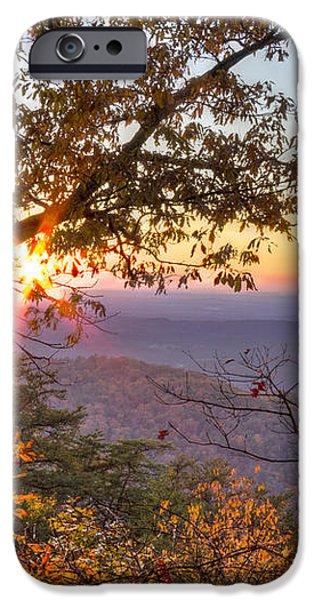 Smoky Mountain High iPhone Case by Debra and Dave Vanderlaan
