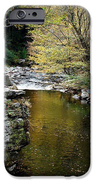 Smoky Mountian River iPhone Case by Sandy Keeton