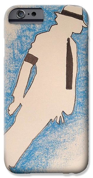 Smooth Criminal iPhone Cases - Smooth Criminal iPhone Case by Peter Virgancz