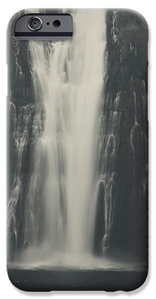 Water Flowing iPhone Cases - Smooth iPhone Case by Laurie Search