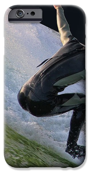 Smooth Ride iPhone Case by Mariola Bitner