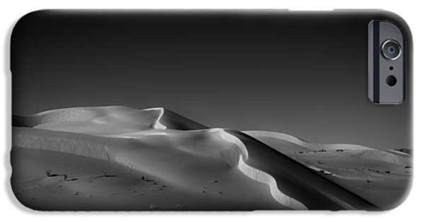 Sand Dunes iPhone Cases - Snake Dune iPhone Case by Peter Tellone