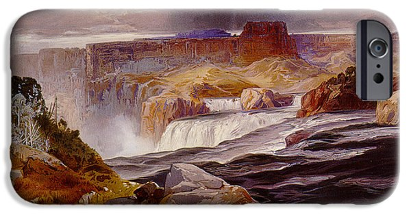 Unknown iPhone Cases - Snake River Idaho 1876 iPhone Case by Unknown