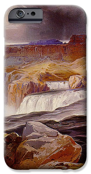Snake River Idaho 1876 iPhone Case by unknown