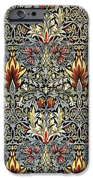 Snakeshead iPhone Case by William Morris