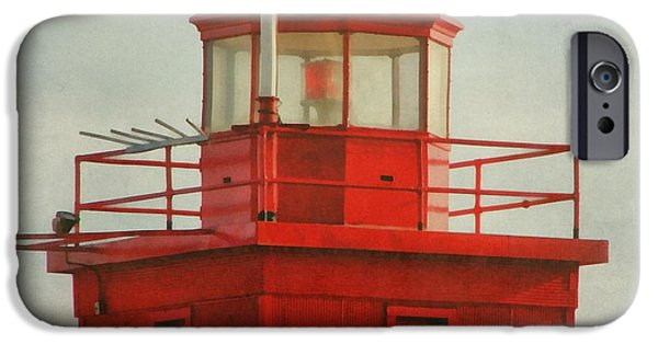 Michelle iPhone Cases - Snapshot of Red iPhone Case by Michelle Calkins