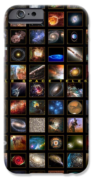 Gas Paintings iPhone Cases - Snapshots of a Universe iPhone Case by Nasa